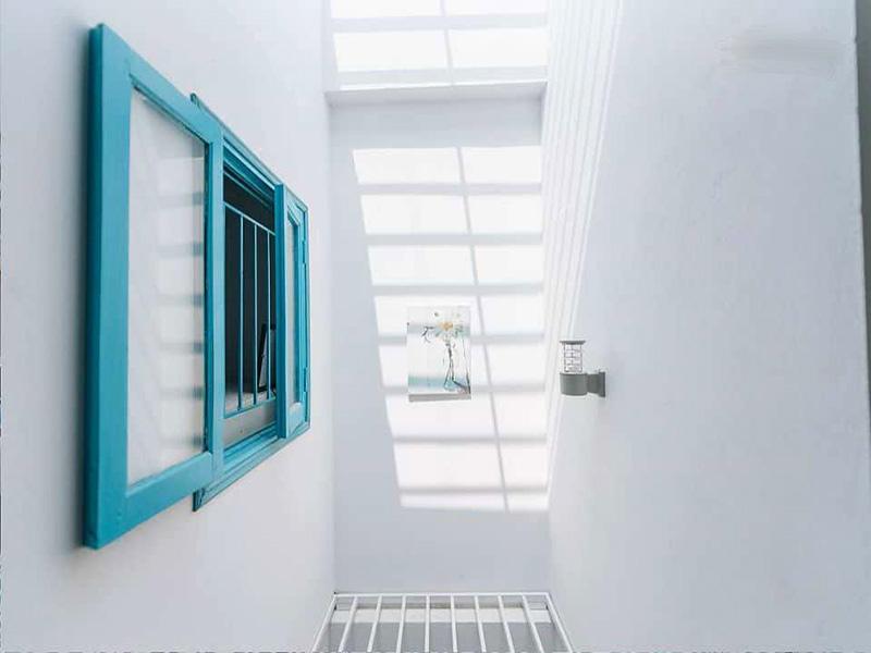 Không gian thoáng mát căn nhà 48m2