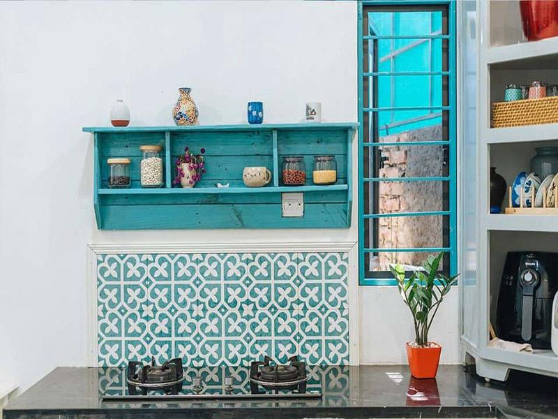 Nội thất nhà bếp theo phong cách Địa Trung Hải