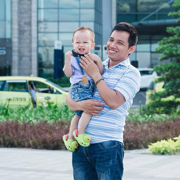 Anh Trung khách hàng thiết kế nhà tại CityA Homes Đà Nẵng