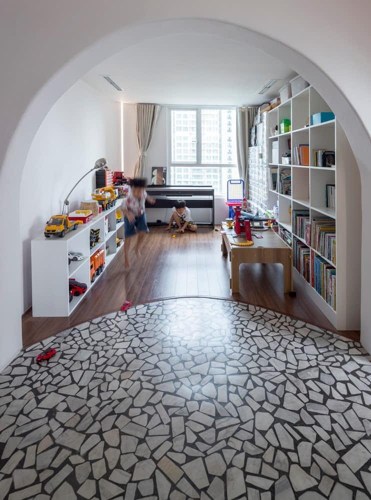 Không gian vui chơi dành cho con trẻ