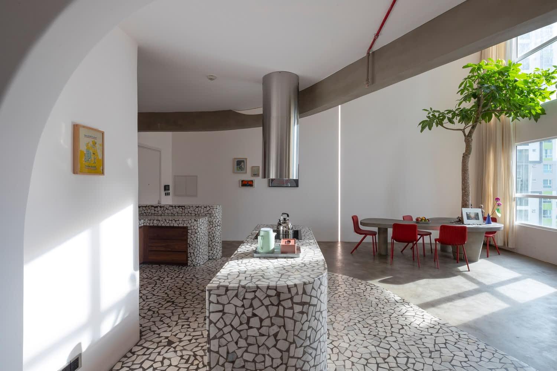 Thiết kế căn hộ chung cư độc đáo