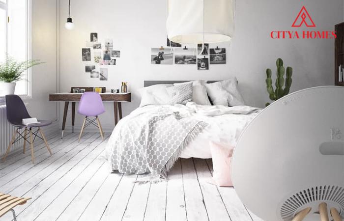 Phong Cách Nội Thất Scandinavian Design Với Sàn Gỗ Sáng Màu