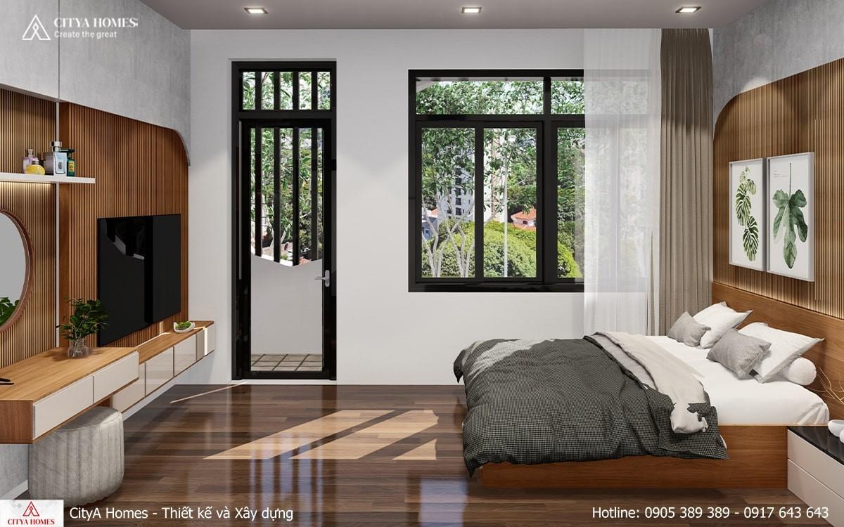 Căn Phòng Ngủ được Tràn Ngập ánh Sáng