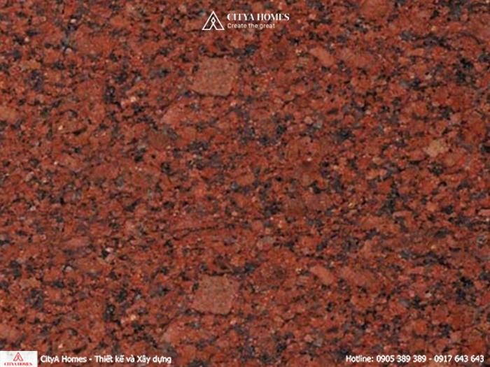 Đá lát nền Granite màu đỏ kim sa
