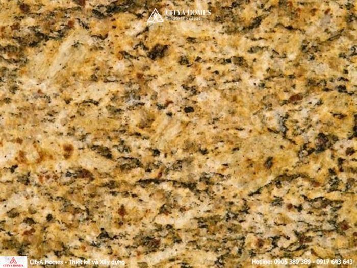 Đá lát nền Granite màu vàng