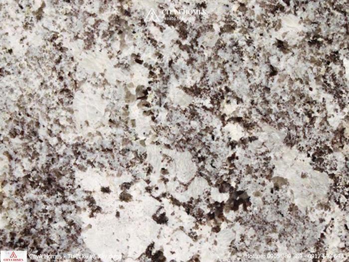 Đá lát nền Granite trắng Alaska