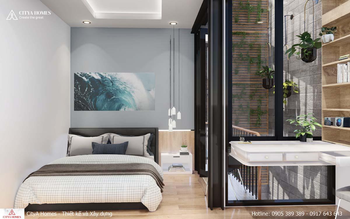 Đặt yếu tố không gian xanh, thoáng và sáng vào mọi không gian trong nhà