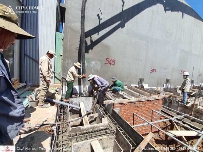 Hình ảnh thực tế công trình xây dựng nhà tại Đà Nẵng
