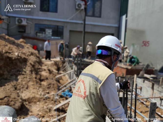 Hình ảnh thực tế xây nhà trọn gói tại Đà Nẵng