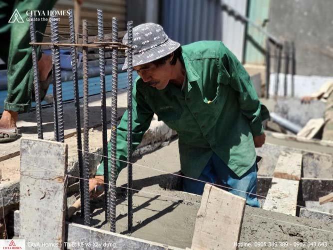 Hình ảnh thực tế xây dựng thi công nhà tại Đà Nẵng