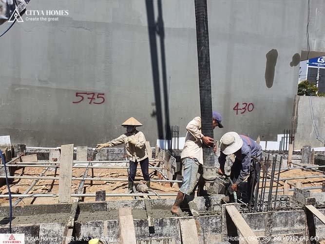 Hình ảnh thực tế thi công trọn gói Đà Nẵng