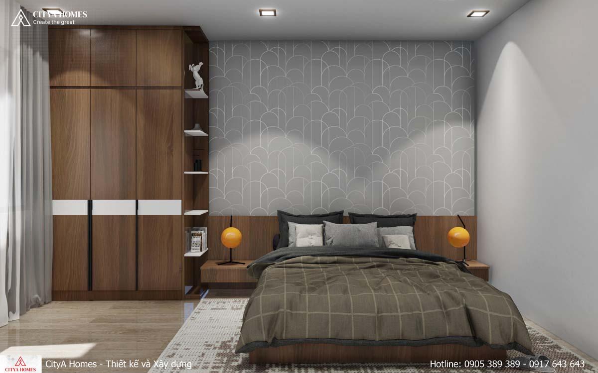Không gian phòng ngủ tạo sự thoải mái, thư giãn