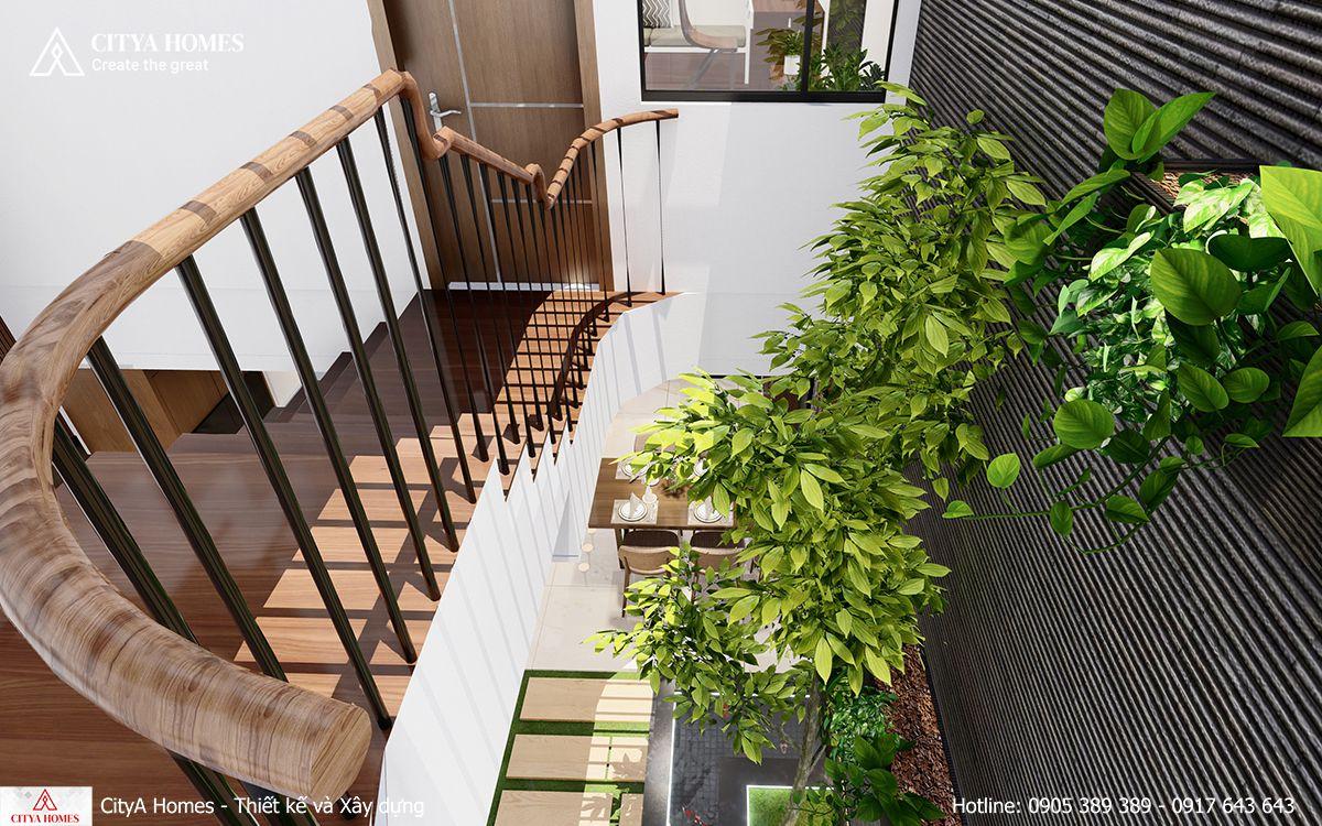 Không gian xanh được ưu tiên bố trí trong mọi không gian nhà