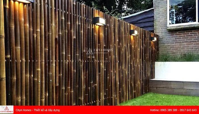 Mẫu cổng rào bằng tre độc đáo - 2