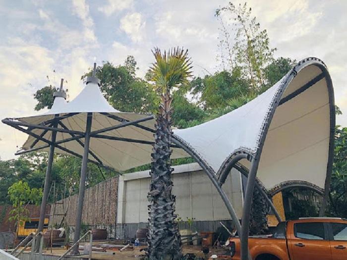 Mẫu mái vòm đẹp cho các khách sạn, nhà nghỉ