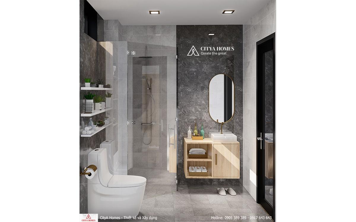Mẫu nhà tắm đẹp sang trọng