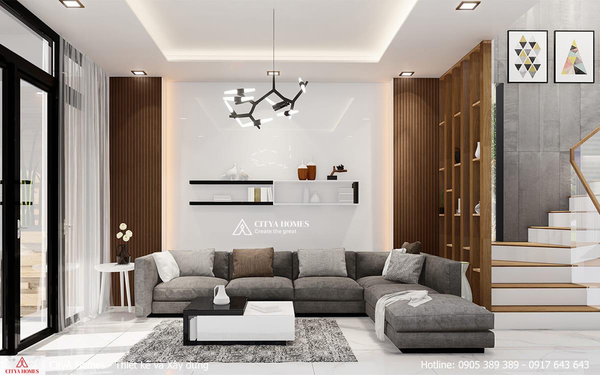 Mẫu nội thất không gian phòng khách