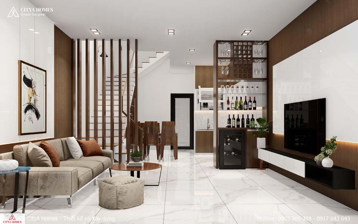 Mẫu phòng khách đẹp, chuẩn hiện đại