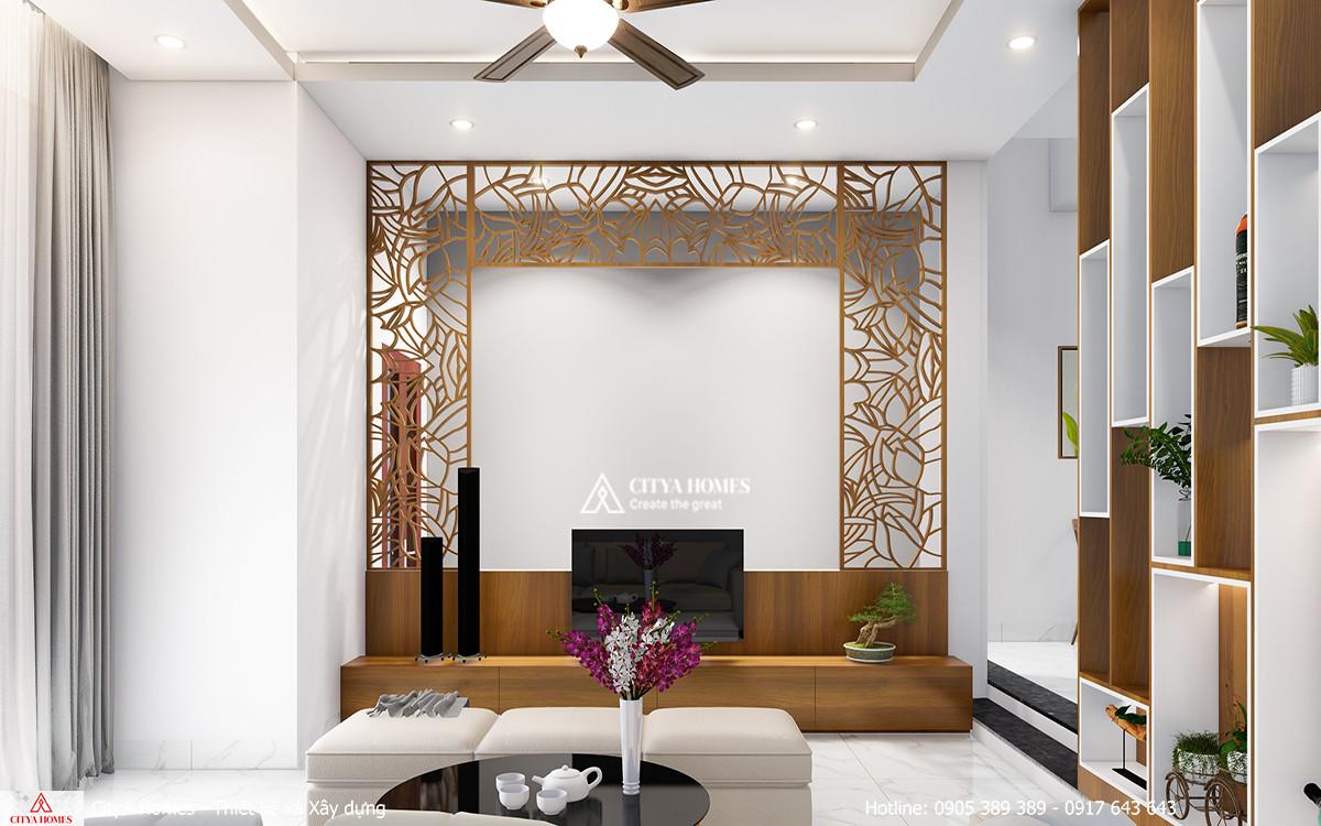 Mẫu phòng khách đơn giản, hiện đại