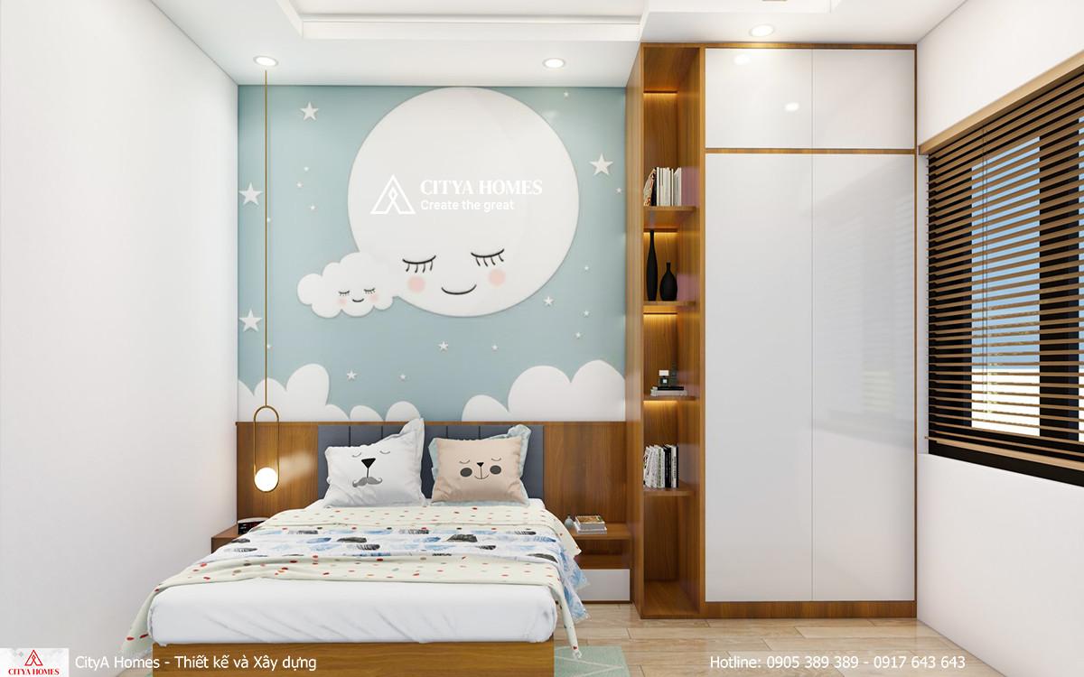 Mẫu phòng ngủ dễ thương cho bé gái