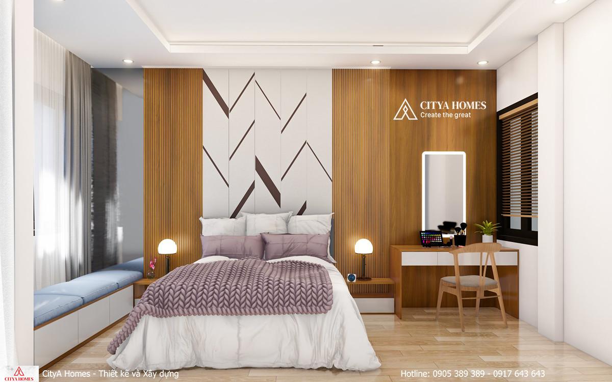 Mẫu phòng ngủ đơn giản, hiện đại