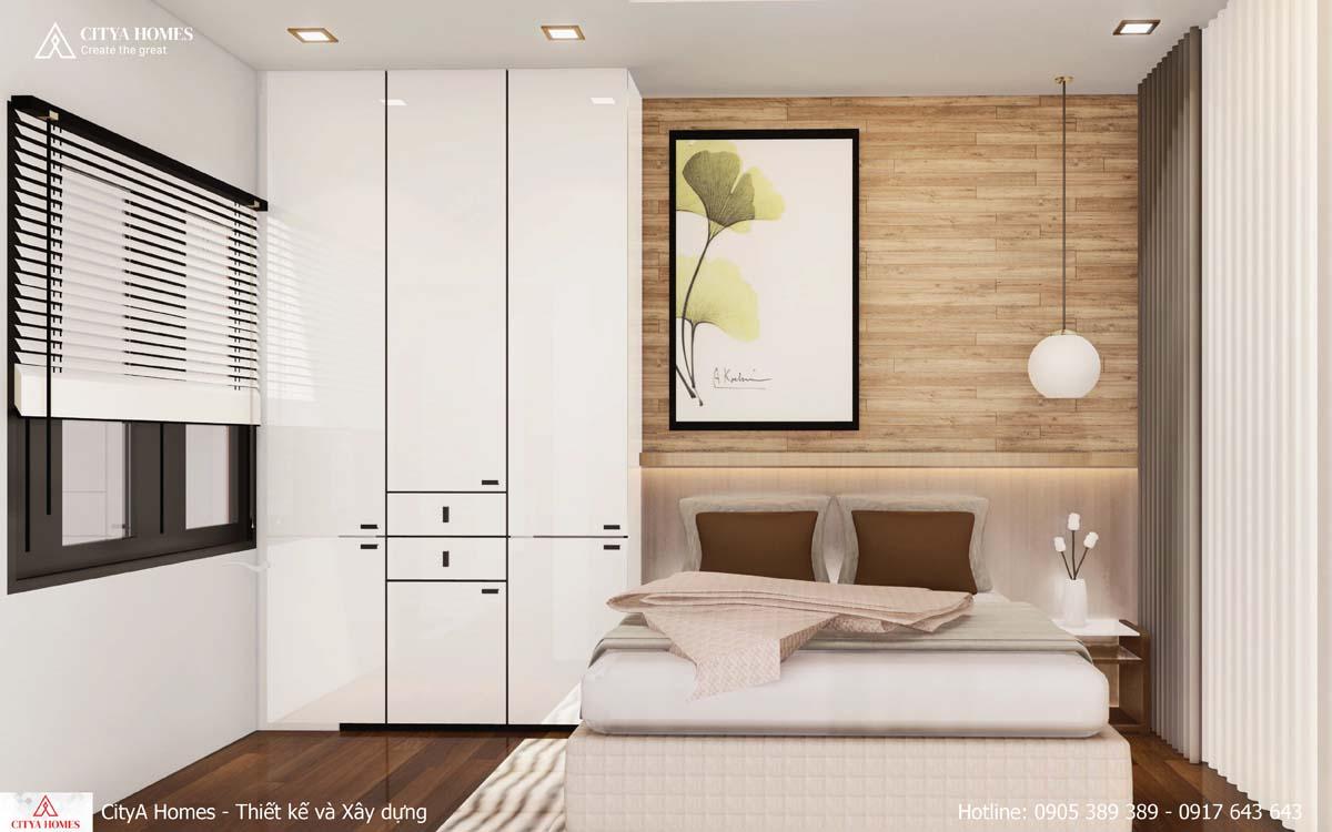Mẫu Phòng ngủ nhẹ nhàng, phù hợp với phái yếu