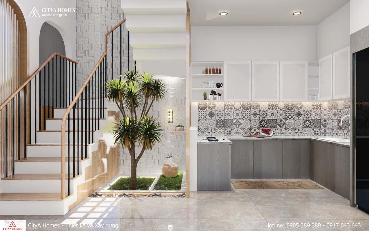 Mẫu thiết kế không gian phòng bếp