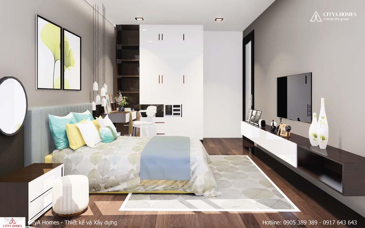 Mẫu thiết kế nội thất phòng ngủ hợp xu hướng