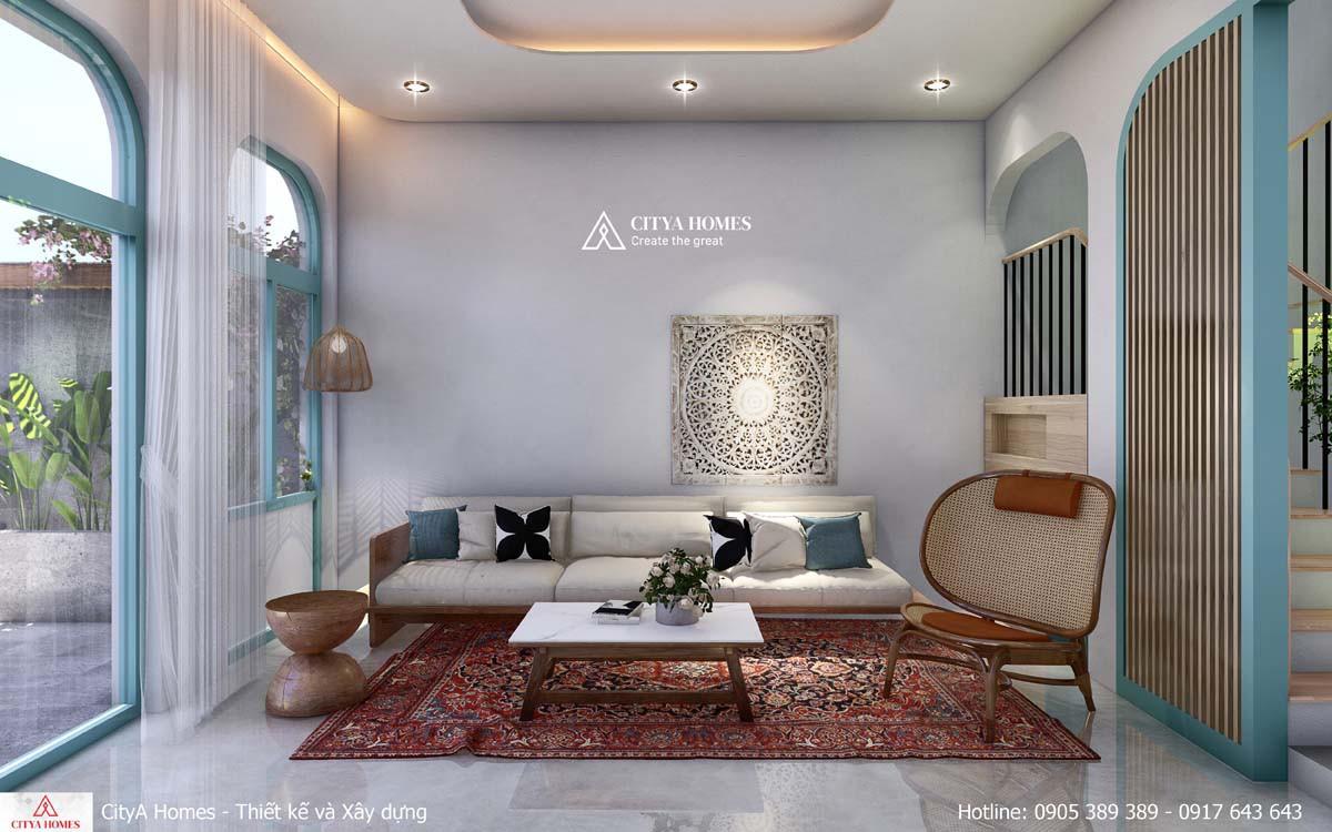 Mẫu thiết kế Phòng khách thể hiện được cá tính của gia chủ