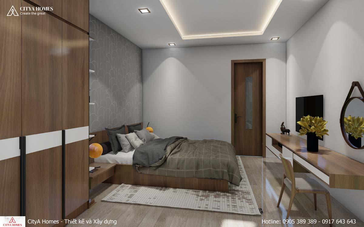 Mê mẩn với thiết kế phòng ngủ tone màu trầm