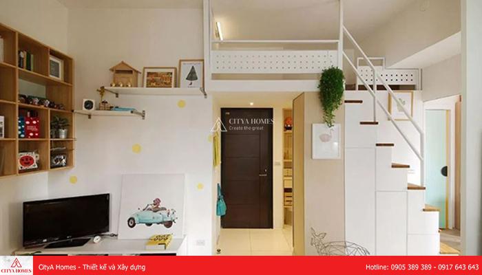 Nhà tầng lửng cho gia đình có trẻ em - 2