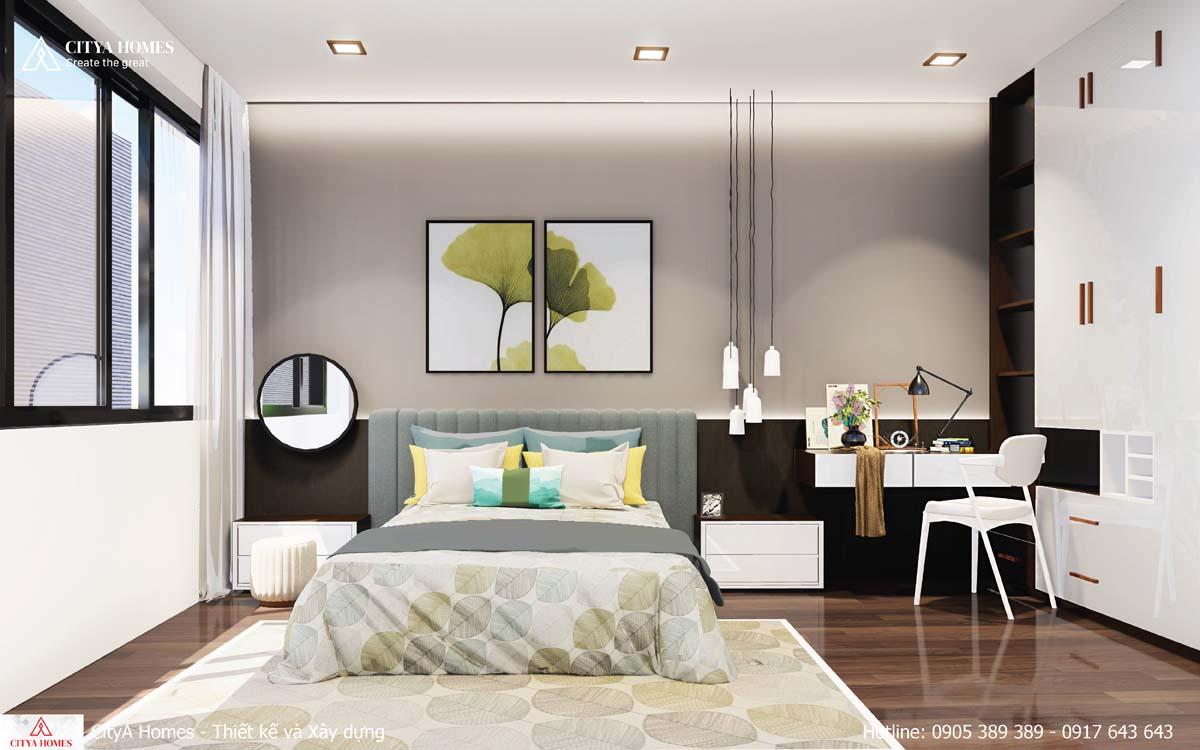 Nội thất phòng khách tối giản mang lại không gian rộng, thoáng mát