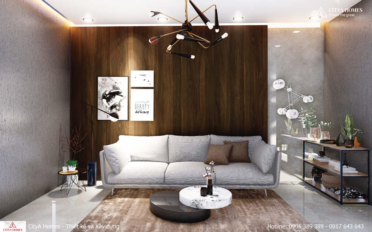 Phòng khách tách biệt, nổi bật với nội thất sang trọng