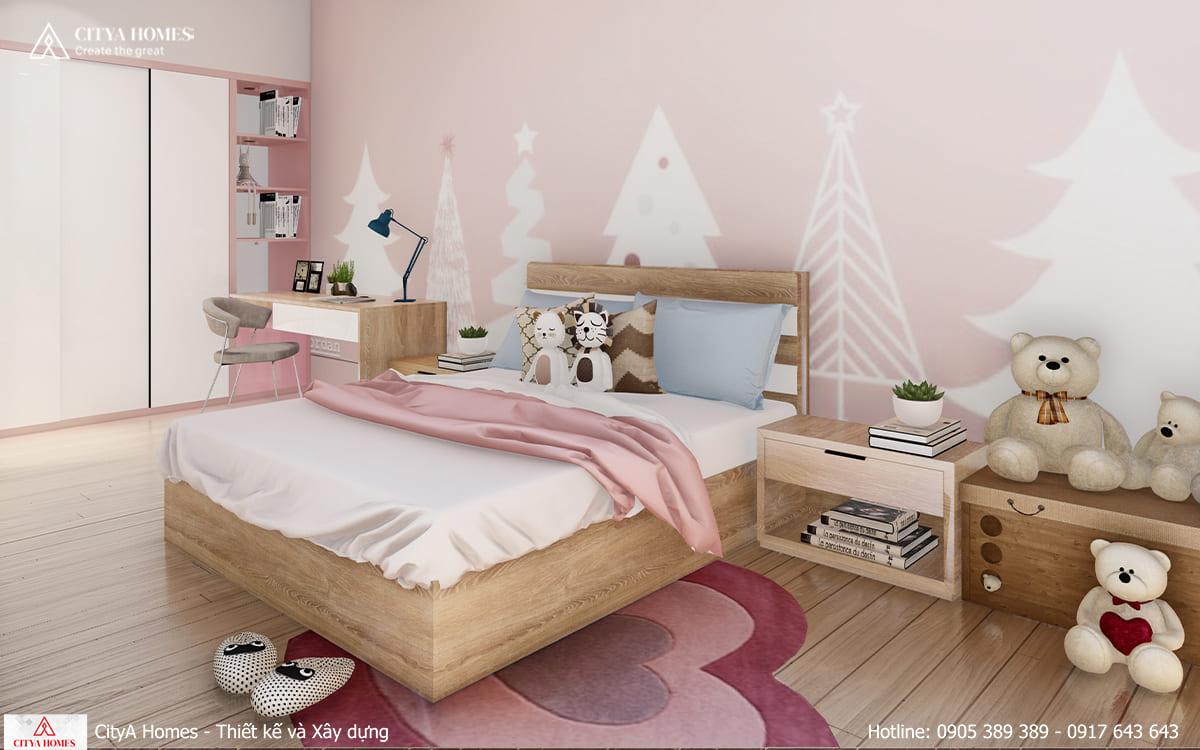 Phòng bếp tiện nghi và tối giản Phòng ngủ cho bé được trang trí hết sức dễ thương