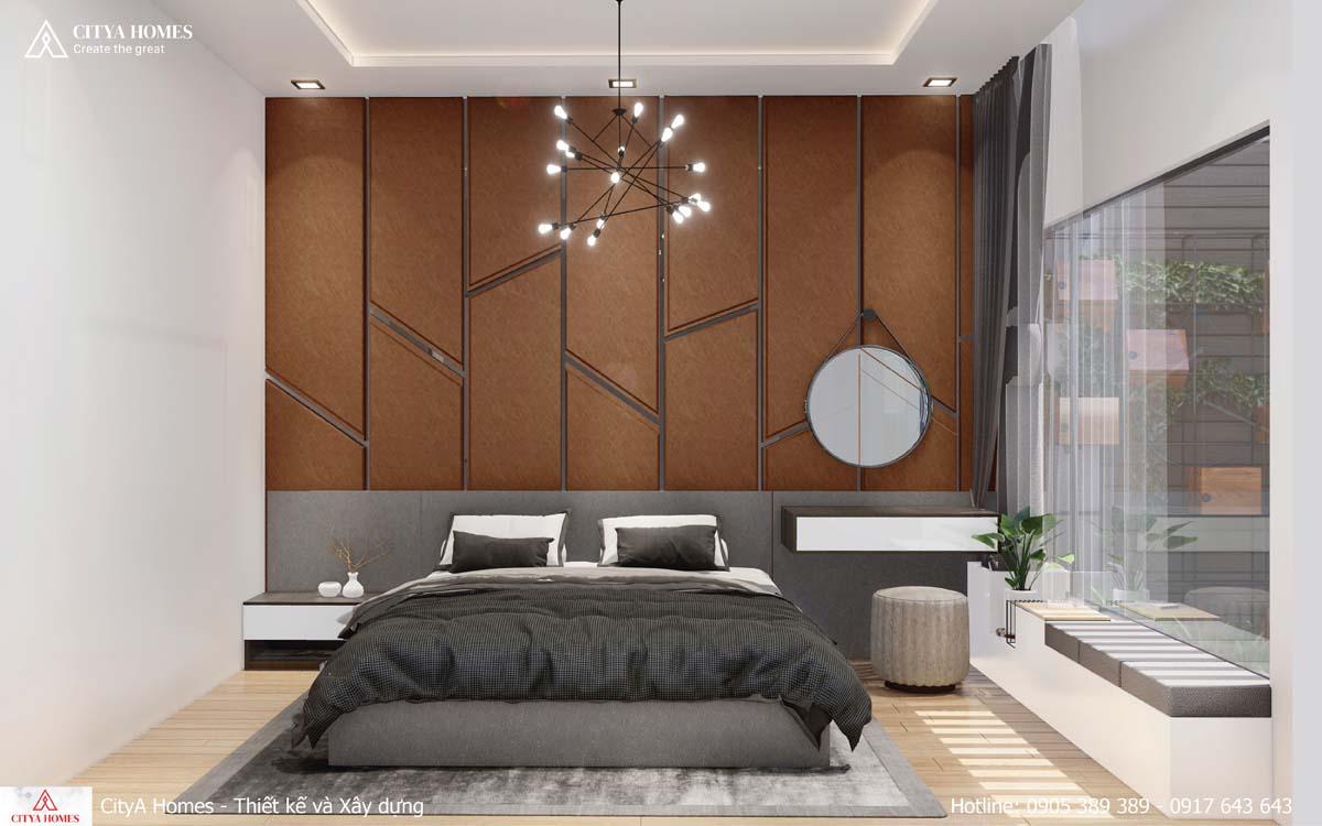 Phòng ngủ master cách tân, hiện đại
