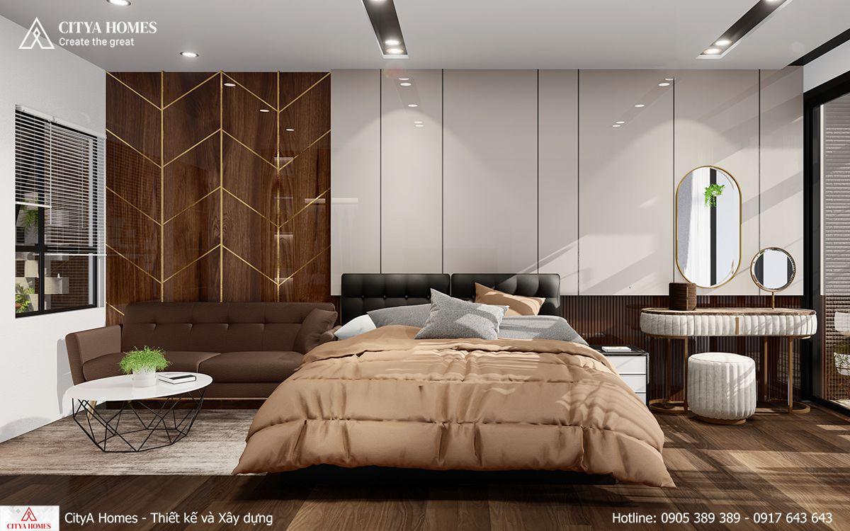 Phòng ngủ master cho gia chủ