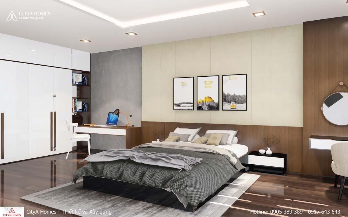 Phòng ngủ master sang trọng dành cho gia chủ