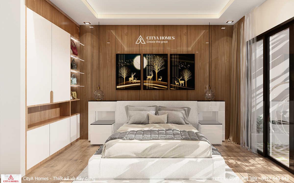 Phòng ngủ thiết kế tinh tế