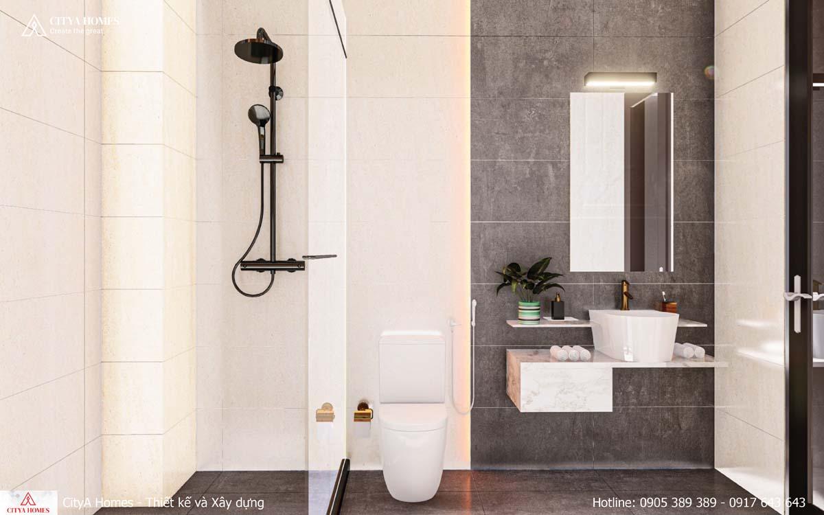 Phòng tắm thiết kế tinh tế