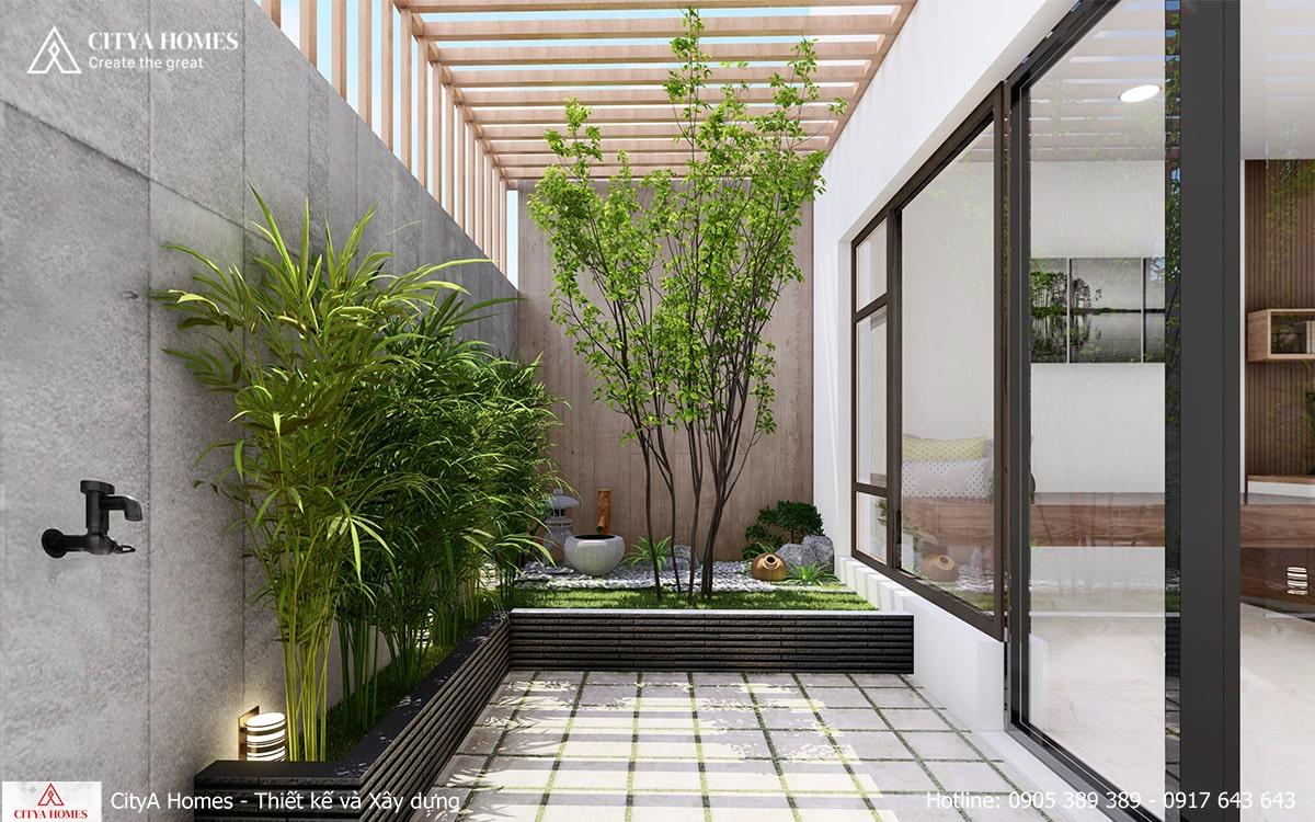 Sự góp mặt của cây xanh làm không khí trong nhà trở nên trong lành hơn