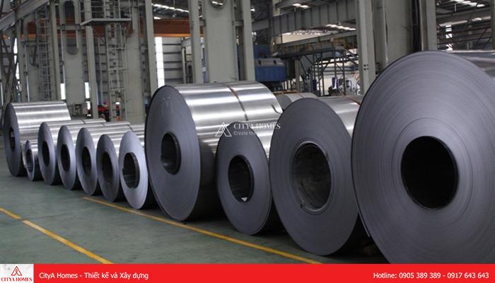 Hình ảnh thực tế thép cuộn tại nhà máy sản xuất - 2