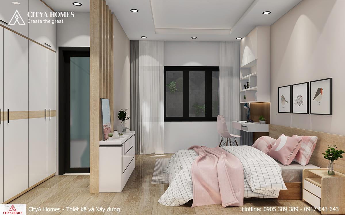 Thiết kế căn phòng toát lên sự mộng mơ, yêu đời