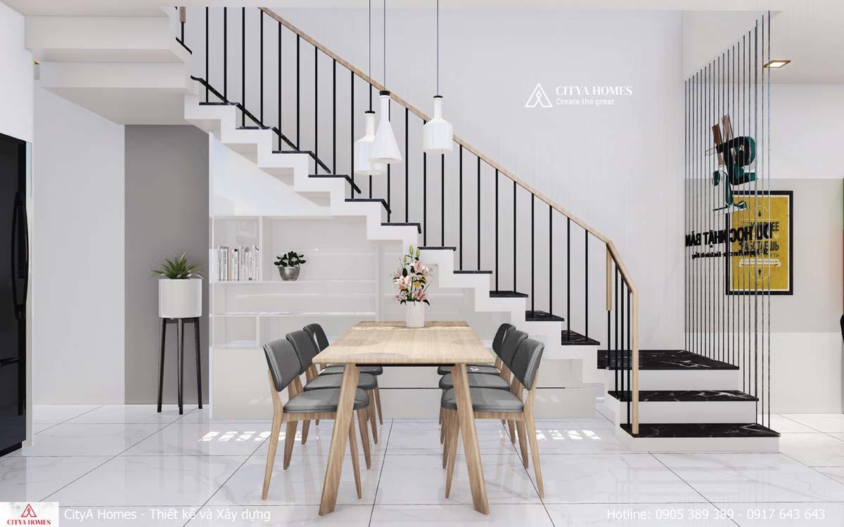 Thiết kế cầu thang hiện đại