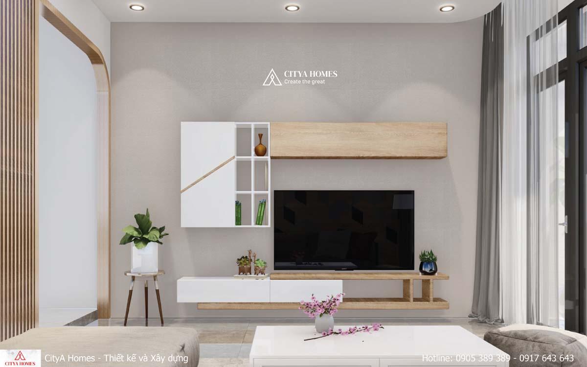Thiết kế nội thất đề cao sự đơn giản, tinh tế và hiện đại