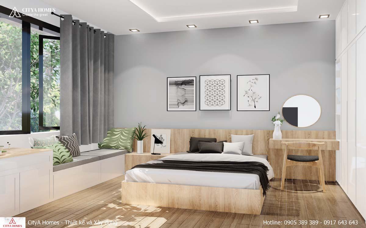 Thiết kế phòng ngủ ưu tiên lấy sáng