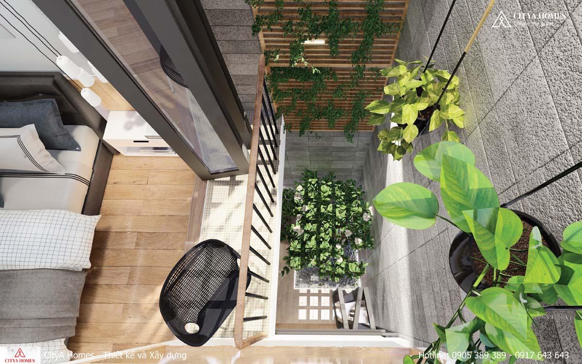 Thông tầng lấy sáng cho cả căn nhà