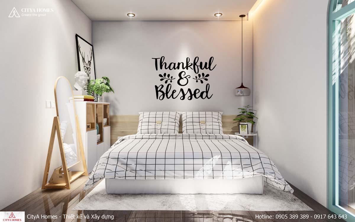 Tối giản thiết kế trong không gian phòng ngủ