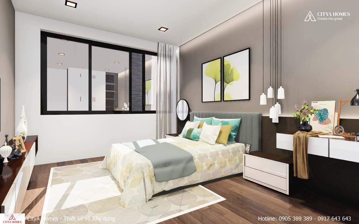 Trang trí nội thất phòng ngủ thu hút mọi ánh nhìn