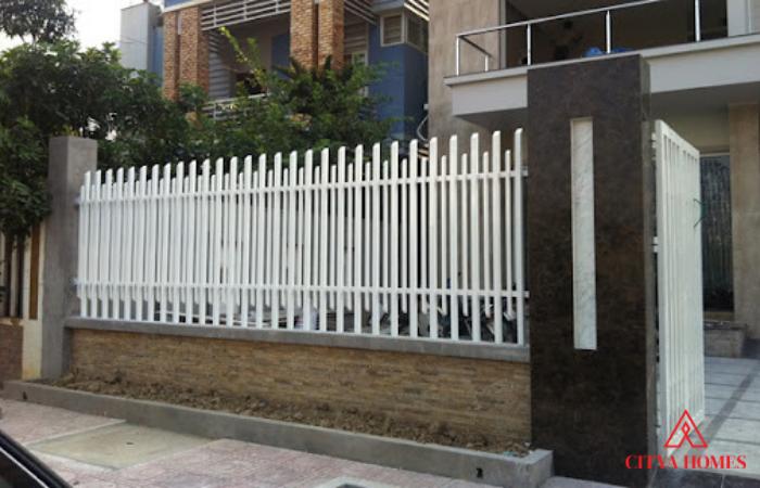 Mẫu Hàng Rào Sắt Hộp đẹp (sắt Pano)