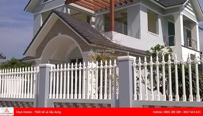 Chiều cao hàng rào phù hợp